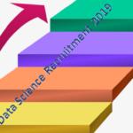 Data Science Recruitment of Freshers – 2019