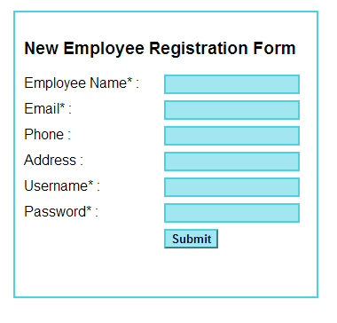 submit a form data using php ajax and javascript