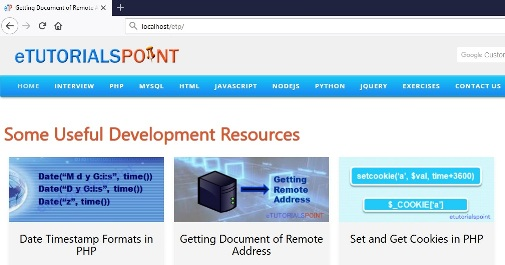 Getting Document of Remote Address