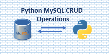 CRUD operations in Python using MYSQL Connector