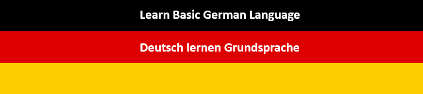 Learn basic german